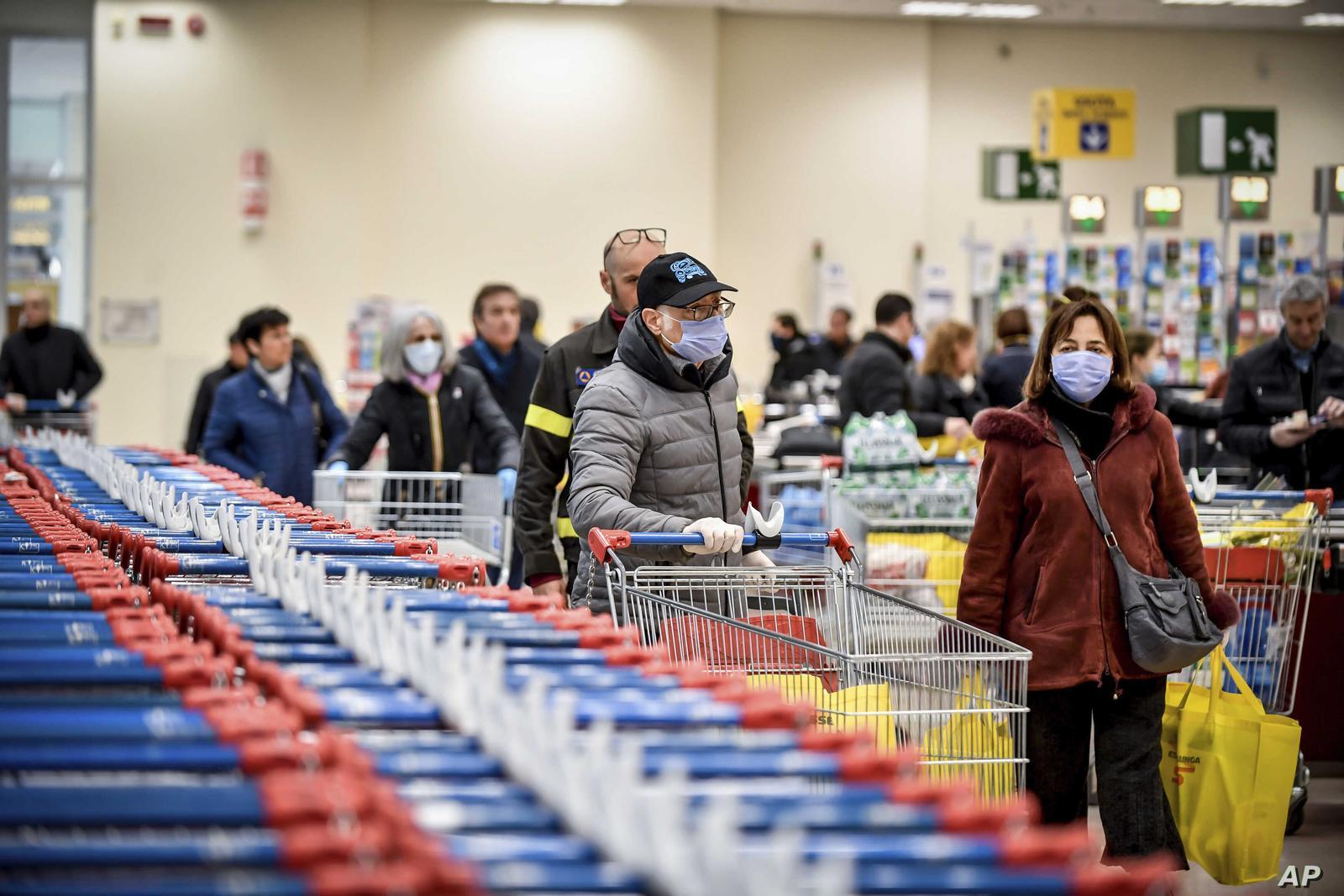 spesa italiani coronavirus