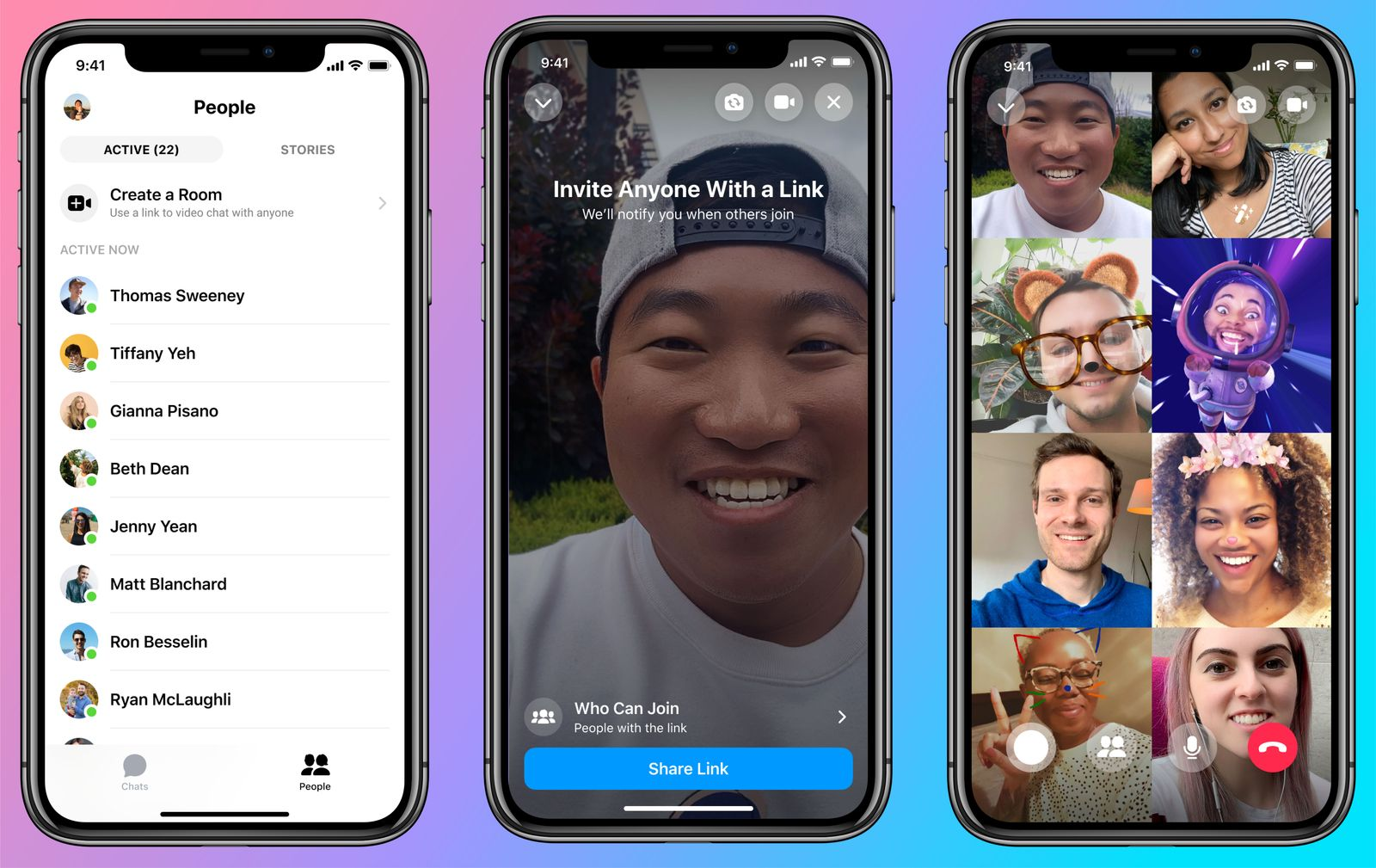 MessengerRooms Mobile Colored risultato 1
