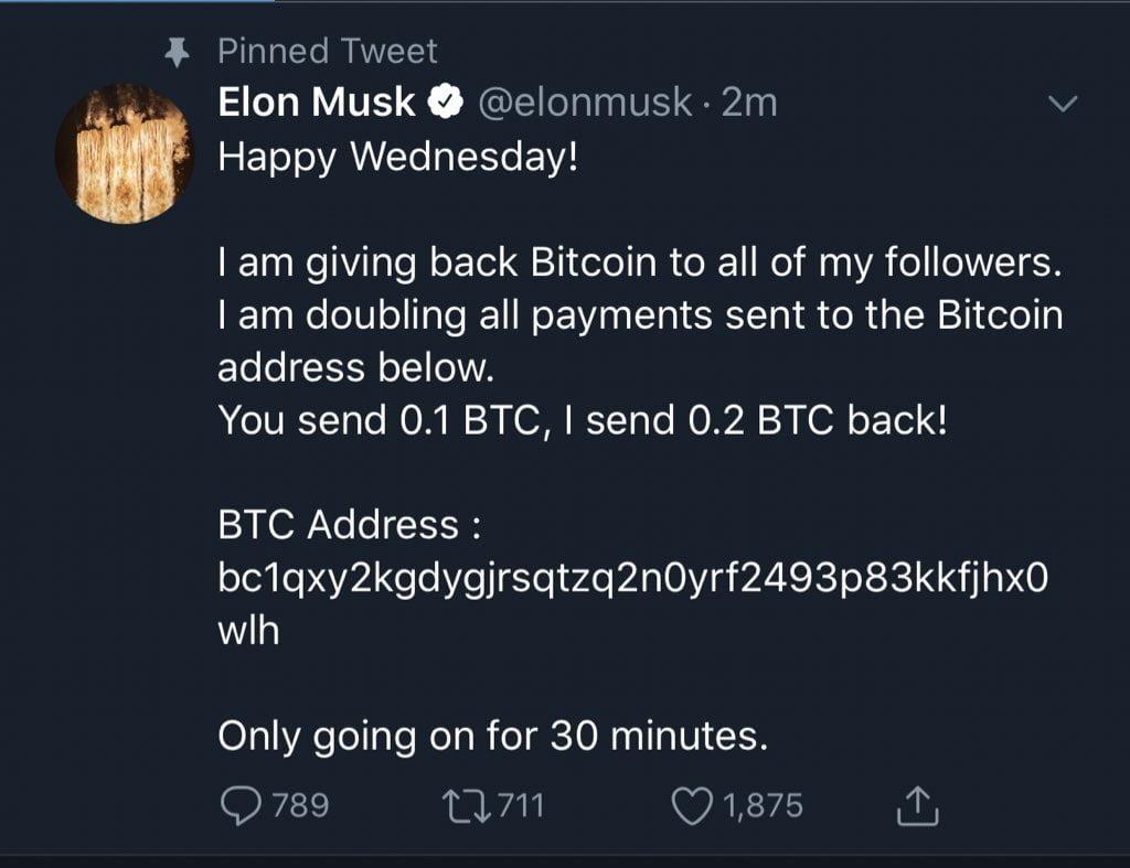 Twitter hackerato Elon Musk