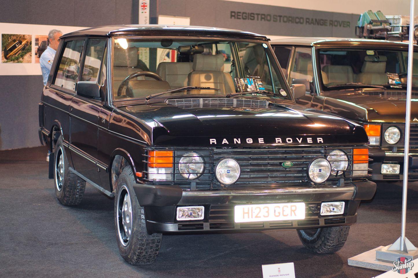 Range Rover auto e moto d'epoca