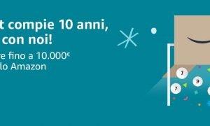vincitore dei buoni Amazon da 10.000 euro