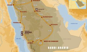 Percorso Dakar 2021