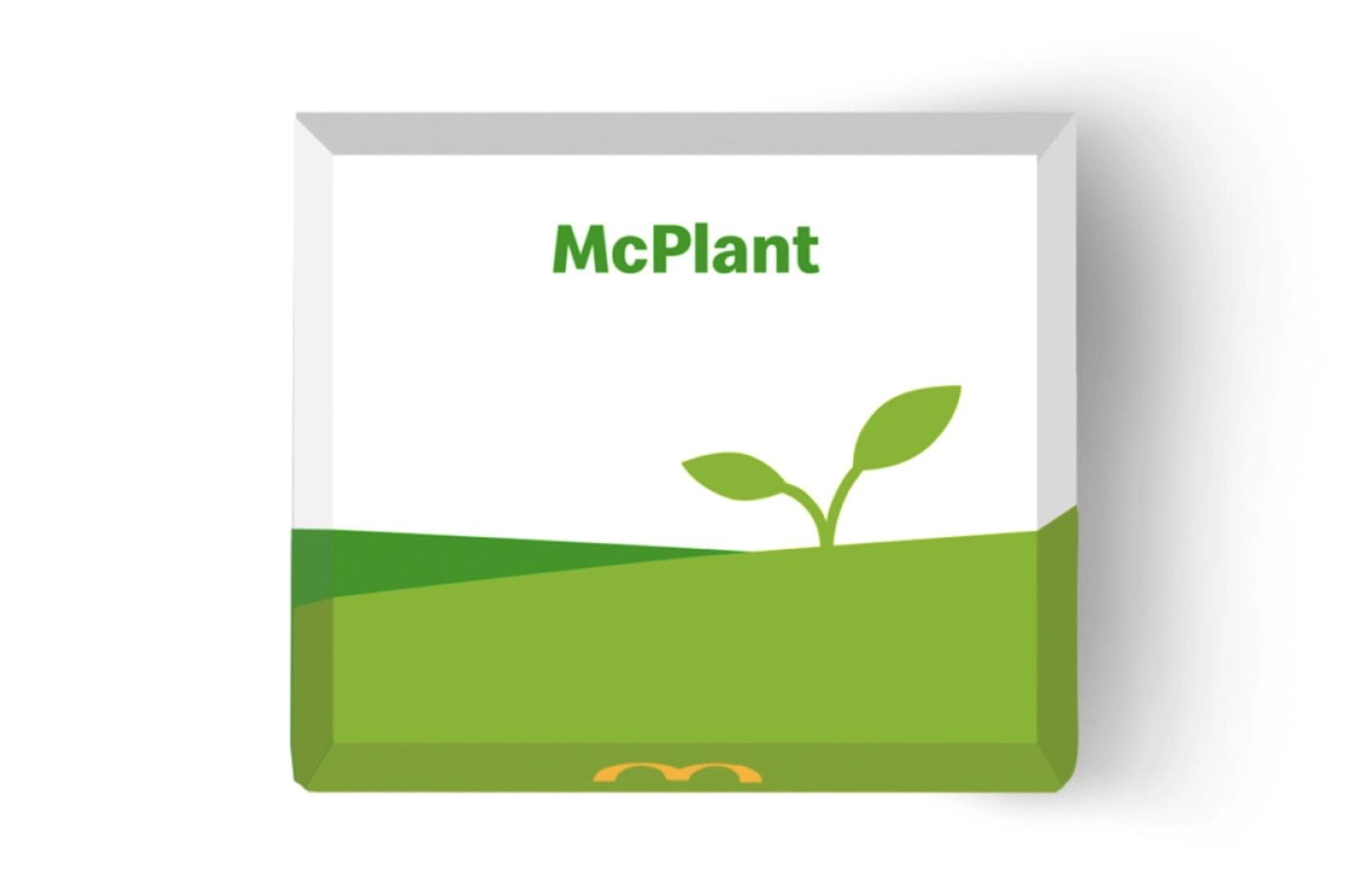 hamburger vegetali McDonald's McPlant