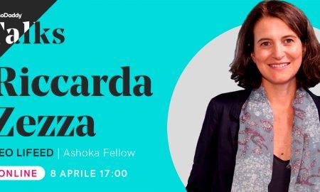 GoDaddy Talks, Riccarda Zezza, CEO di LIFEED
