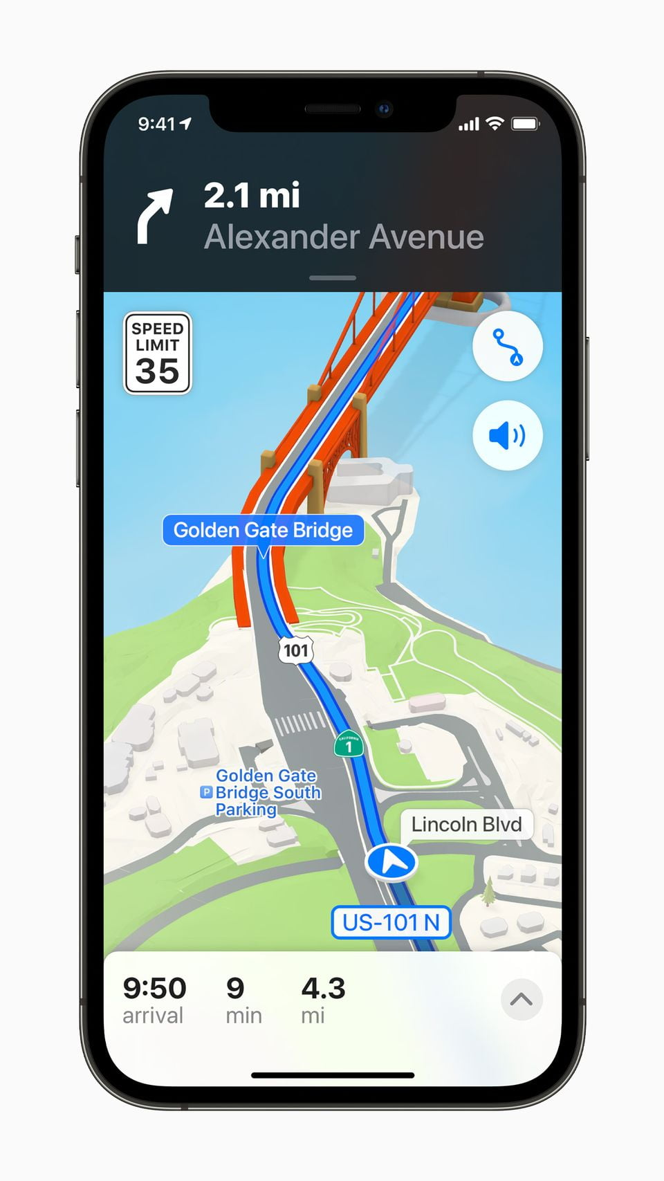 Apple iPhone12Pro iOS15 maps navigation 060721 result 1