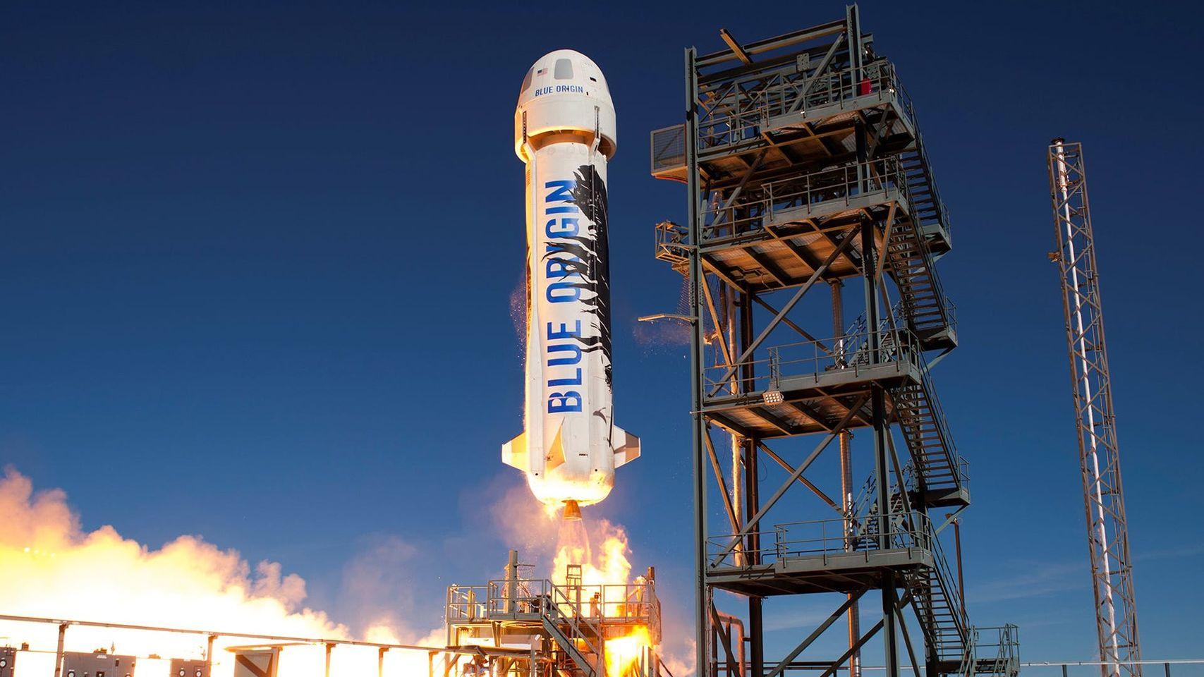 Jeff Bezos andrà nello spazio con un razzo Blue Origin il prossimo 20 luglio